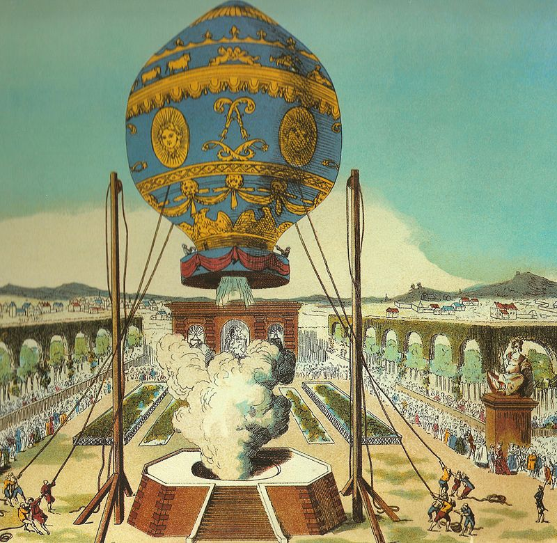 A Brief History of Hot Air Ballooning : Wickers World