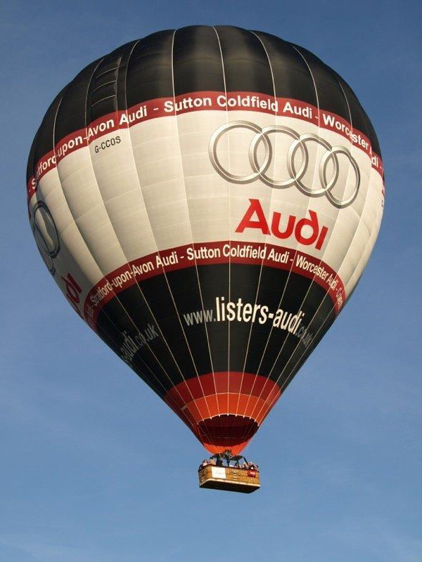 hot air balloon cost sponsor