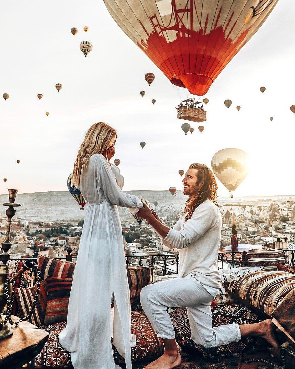Hot Air Balloon Rides in Turkey