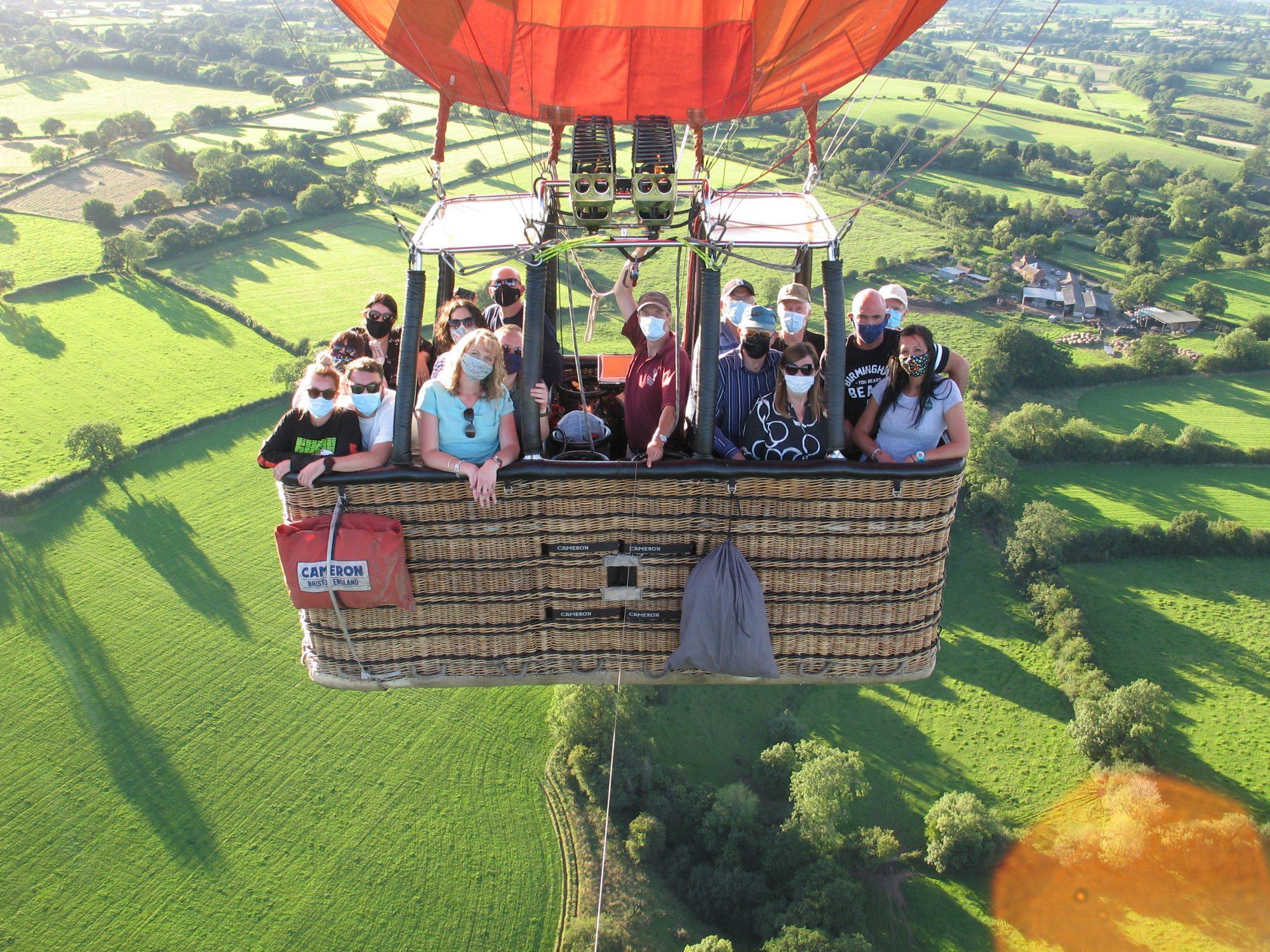 Hot Air Balloon COVID-19